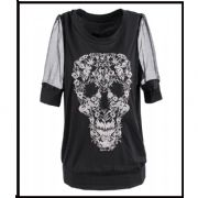 2013 women's latest printed T shirt